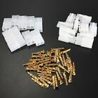 30pcs RC R/C 7.2v Tamiya Battery Male Female Connector Plug Set Gold Plated Pins