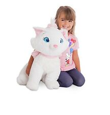 "Disney Store Authentic Aristocats Marie Jumbo 19"" White Cat Plush Stuffed Animal"