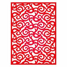 Sizzix Thinlits Lace Pattern Card Front die #659132 Retail $19.99 Retired Beauty