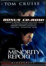 Minority Report (DVD, 2002, 2-Disc , Widescreen) PLUS BONUS CD-ROM GAME RARE!  A