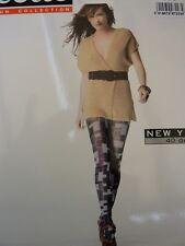 collant NEW YORK BY CETTE taille S coloris BLEU NUIT (bleu gris) 40 DEN