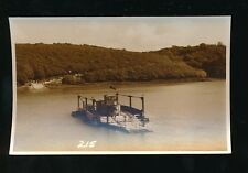 Cornwall King Harrys Ferry + river Judges Proof Card #24684 c1950/60s photograph