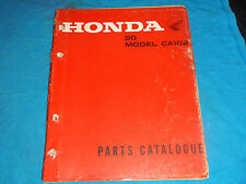 1962-1969 62 63 64 65 66 67 68 69 HONDA CA102 CA 102 PARTS MANUAL BOOK CATALOG