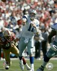 DREW BLEDSOE 8x10 ACTION PHOTO Vintage NFL Picture DALLAS COWBOYS #11 QB awesome