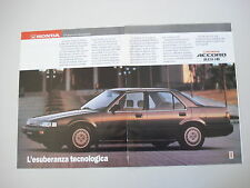 advertising Pubblicità 1988 HONDA ACCORD 2.0 i-16