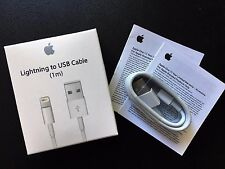 1M OEM Original Apple Lightning USB Charger Cable for iPhone 6s Plus iPhone