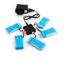 5in1 EU Plug Charger&5pc 3.7V 1200mAh Li-Po Battery for Syma X5SW X5SC Drone FPV