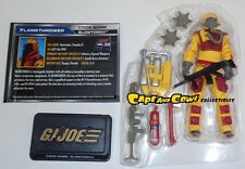 Hasbro G.I. Joe 50 Heated Battle BLOWTORCH Loose 50th Anniversary Hasbro GI