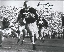 Notre Dame Fighting Irish JOHNNY LUJACK Signed 8x10 Photo