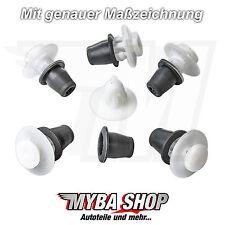 10x Zierleistenklammern Befestigungen Klip Halterung für VW Golf 3 Jetta Vento