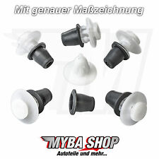 5x Zierleistenklammern Befestigungen Klip Halterung für VW Peugeot Citroen Opel