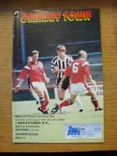 22/08/1992 Grimsby Town v Watford  (No Apparent Faults)