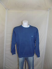 FRED PERRY  MAGLIONE JUMPER SWEATER SUETER PULLOVER UOMO TG.L  CASUAL   W1205