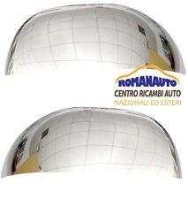 *COPPIA CALOTTE Cromate FIAT PANDA 2009 - 2011 (Coppa Specchio Retrovisore)