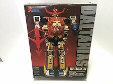 New 1982 BANDAI AMERICA GODAIKIN DALTANIAS Robot IN ORIGINAL BOX~