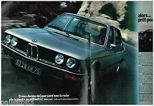 PUBLICITE ADVERTISING 095  1973  BMW    la 520i  (2p)