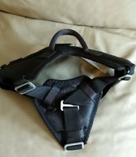 Nylon Dog Harness with Handle - Dog Training/Police/K9  Size M Black NEW!!!
