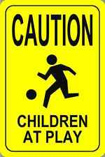 """Caution Children At Play Parking Signs 18""""x12"""""""