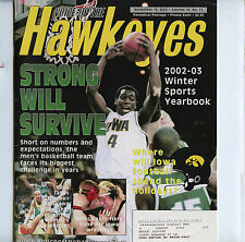 Voice of  Hawkeyes Sports Yearbook Iowa Wrestling 2002 Mocco Eustice Moore