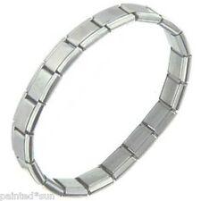 STARTER Italian 18 links Matte Blank Bracelet For 9mm nomination style charms