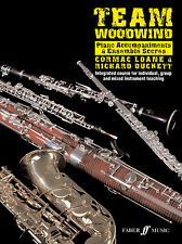 Team Woodwind Piano Accompaniment/Score Piano Solo Learn Play FABER Music BOOK