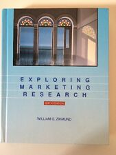 Exploring Marketing Research by William Zikmund Textbook