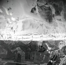 7x5 Gloss Photo ww761 Normandy D-Day Jb Juno Beach Vue Aerienne