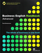 Macmillan BUSINESS ENGLISH HANDBOOK Advanced with AUDIO CD Paul Emmerson @NEW@