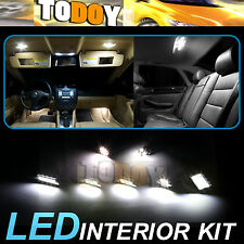 10PCS White LED Light Bulb Interior Package Kit For 2013-2014 Mazda CX-5 / 80