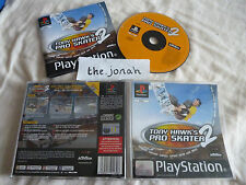 Tony Hawks Pro Skater 2 PS1 (COMPLETE) hawk PlayStation skateboard black label