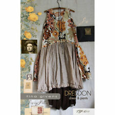 Dresdon Dress & Pant TG-A3133 Sewing Pattern by Tina Givens- Lagenlook Style!