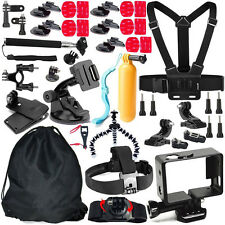 Sport Camera Accessory 46 in 1 Set Kit Chest Head Strap Mount for Gopro4/3+/3/2