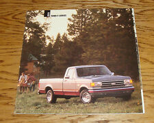 Original 1991 Ford Truck F-Series Pickup Sales Brochure 91 F-150 XL XLT Lariat