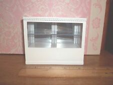 STORE DISPLAY CASE/CABINET  - WITH MIRRORED BACK -   DOLL HOUSE MINIATURE