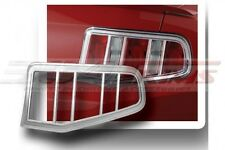 FITS FORD MUSTANG 2010-2012 FACTORY-FIT CHROME TAIL LIGHT TRIM BEZELS 2PCS