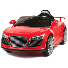 Audi R8 Style 12V Kids Ride On Car Electric Powered Wheels Remote Control RC