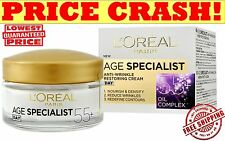L'OREAL Paris AGE SPECIALIST Day Face Cream 55+ Anti-Wrinkle Lifting Effect 50ml