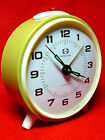 LOUD NEW OLD STOCK Vintage 70's  KUCO USSR Winding Alarm Clock Desk Table NR7