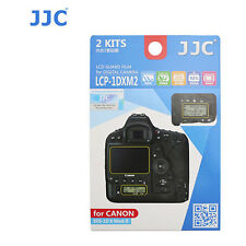 JJC LCP-1DXM2 ultra hard polycarbonate LCD Film Screen Protector Canon 1DX M II