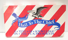 VTG Hail to the Chief Educational Board Game Test of Knowledge on US Presidents