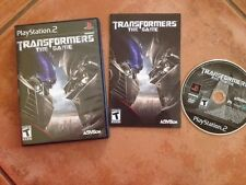 ☀️ Transformers: The Game PS2 PlayStation 2 (2007) NTSC/UC COMPLETE GAME VGC