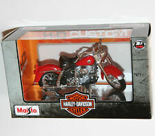 Maisto - Harley Davidson 1958 FLH DUO GLIDE (Red) Model Scale 1:18
