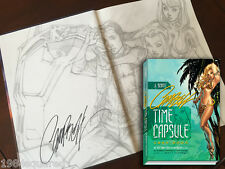 J Scott Campbell Time Capsule Hardcover Art Book Signed Limited Low # New NM