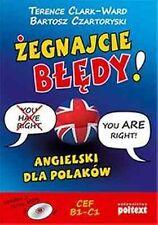 Żegnajcie błędy! Angielski dla Polaków - POLISH BOOK