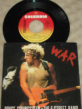 "Bruce Springsteen 7"" War / Merry Christmas Baby 1986 PS"