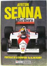 AYRTON SENNA PORTRAIT OF A CHAMPION ALAN HENRY ISBN:0905138600 BIOGRAPHY BOOK