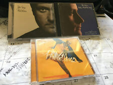 PHIL COLLINS 3 CD LOT: HELLO, I MUST BE GOING, BOTH SIDES, DANCE INTO THE LIGHT