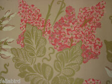 "DESIGNERS GUILD CURTAIN FABRIC ""Irise"" 3.2 METRES ORCHID (320 CM) 100% COTTON"