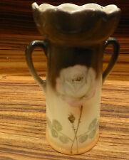 """Great Vintage CzechoSlovakia art nouveau small vase 5 3/4"""" [Y7-W6-A8-E8]"""