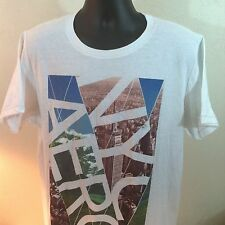 AEROPOSTALE T-SHIRT. SIZE: XL. NEW YORK CITY. White. Empire State Building